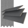 Morgan 50 Dark Grey - 50mm Slat Wooden Blind Gallant Tape