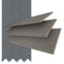 Morgan 50 Ebony Oak - 50mm Slat Wooden Blind Slate Tape