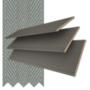 Morgan 50 Flint Grey Oak - 50mm Slat Wooden Blind Flint Tape
