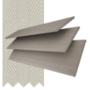 Morgan 50 Grey Oak - 50mm Slat Wooden Blind Pebble Tape