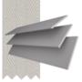 Morgan 50 Light Grey - 50mm Slat Wooden Blind Dove Tape