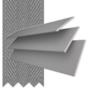 Morgan 50 Light Grey - 50mm Slat Wooden Blind Gallant Tape