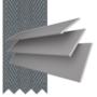 Morgan 35 Light Grey - 35mm Slat Wooden Blind Slate Tape