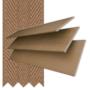Morgan 50 Pine - 50mm Slat Wooden Blind Toffee Tape