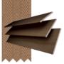 Morgan 50 Rich Oak - 50mm Slat Wooden Blind Toffee Tape