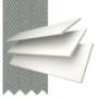 Morgan 35 White - 35mm Slat Wooden Blind Flint Tape