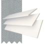 Morgan 50 White Gloss - 50mm Slat Wooden Blind Steel Tape