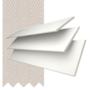 Morgan 35 White - 35mm Slat Wooden Blind Mist Tape
