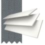 Morgan 50 White - 50mm Slat Wooden Blind Slate Tape