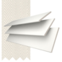 Morgan 35 White - 35mm Slat Wooden Blind Slate Tape