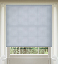 Panama Silver - Patterned Roller Blind