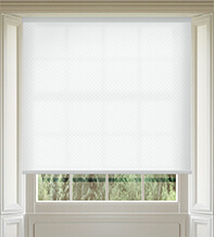 Panama White - Patterned Roller Blind