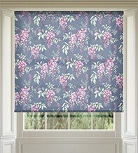 Precious Purple - Patterned Roller Blind