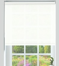 Primo Pure White - Roller Blind