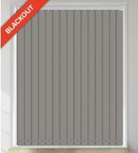 Sark Graphite - Waterproof Blackout Vertical Blind