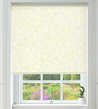 Stirling Yellow - Blackout Roller Blind