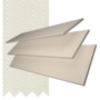 Charisma 35 Stone - 35mm Slat Faux Wood Blind Barley Tape
