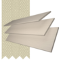 Charisma 35 Stone Fine Grain - 35mm Slat Faux Wood Blind Ecru Tape