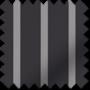 Stripe Black - Sheer Voile Roller Blind