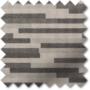 Urban Grey - Horizontal Pattern Blackout Roller Blind