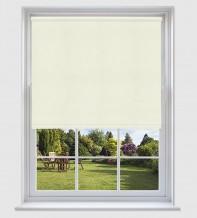 Grace Cream - Shadow Pattern Roller Blind