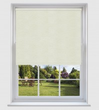 Lucy Beige - Shadow Pattern Roller Blind