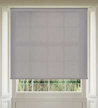 Amber Mid Grey - Textured Roller Blind