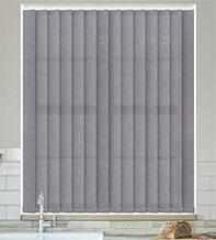 Calacatta Mid Grey - Textured Vertical Blind