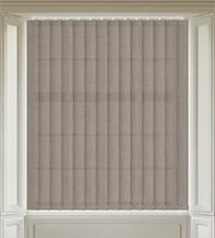 Dusk Brown - Textured Vertical Blind