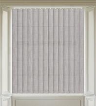 Dusk Grey - Textured Vertical Blind