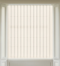Dusk Ivory - Textured Vertical Blind