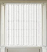 Fern White - Patterned Vertical Blind