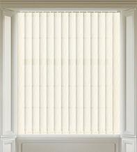 Madison Ivory - Patterned Vertical Blind