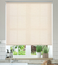 Ophelia Champagne - Textured Roller Blind