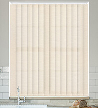 Ophelia Champagne - Textured Vertical Blind