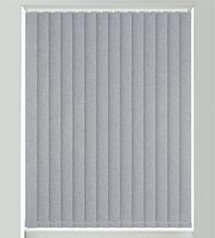 Canvas Blue - Textured Vertical Blind