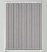 Canvas Dark Grey - Textured Vertical Blind