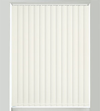 Canvas Ivory - Textured Vertical Blind