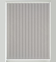 Canvas Light Grey - Textured Vertical Blind
