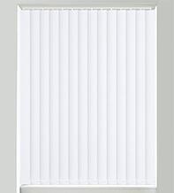 Canvas White - Textured Vertical Blind