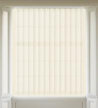 Maisie Cream - Patterned Vertical Blind