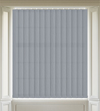 Maisie Mid Grey - Patterned Vertical Blind