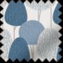 Martha Blue - Patterned Roller Blind