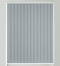 Matilda Grey Shimmer - Faux Silk Blackout Vertical Blind