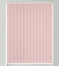 Matilda Pink Shimmer - Faux Silk Blackout Vertical Blind