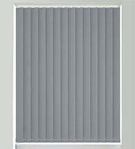 Natalie Slate Grey - Blackout Vertical Blind