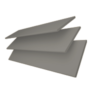 New England Grey - 50mm Slat Faux Wood Blind