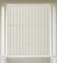 Panama Champagne - Patterned Vertical Blind