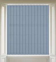 Terra Blue- Textured Vertical Blind