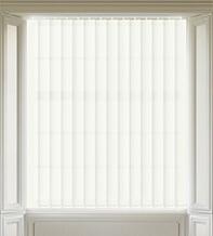 Terra White - Textured Vertical Blind